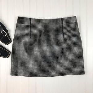 rag & bone Patterned Mini Skirt Size 10